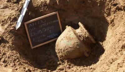 Ηλεία: Βρέθηκαν 8 τάφοι που ανήκουν στη νεκρόπολη της αρχαίας Ήλιδος