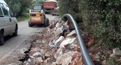 Έργο ύδρευσης στη Μάνη