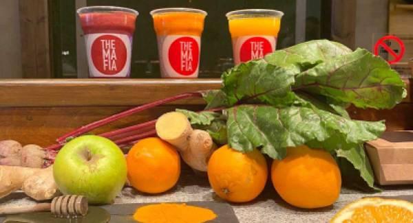 The mafia orange juice, Marathon ή  Vitamin για δύναμη, ευεξία και υγεία!