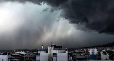 Προσοχή επιδείνωση του καιρού! Καταιγίδες, χαλάζι και θυελλώδεις άνεμοι!