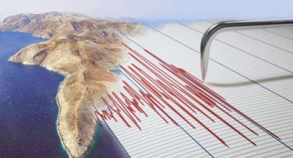 Σεισμός στο ακρωτήριο της Μάνης!