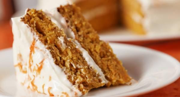 Κέϊκ Καρότου με γλάσο (Carrot Cake)