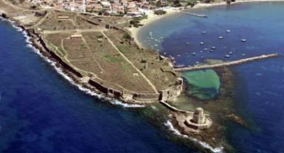 Για να «στέκεται» και να φαίνεται καλύτερα το κάστρο της Μεθώνης!