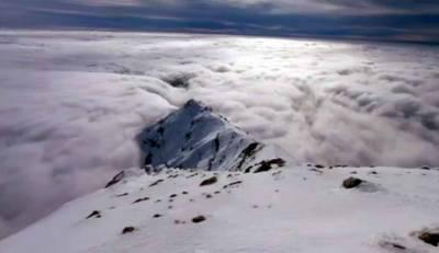 «Προσκύνημα» στον χιονισμένο Ταϋγετο! (video)