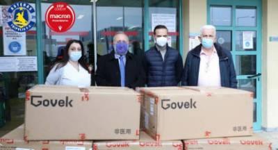 5.000 μάσκες στο Παναρκαδικό Νοσοκομείο απο τον Αστέρα Τρίπολης