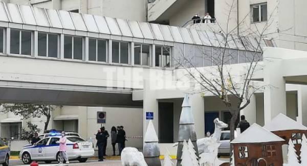 Πτώση άνδρα από τον 5ο όροφο στο νοσοκομείο του Ρίου