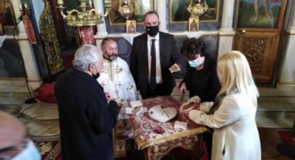Έκοψε την βασιλόπιτα του Δήμου ο δήμαρχος Γορτυνίας