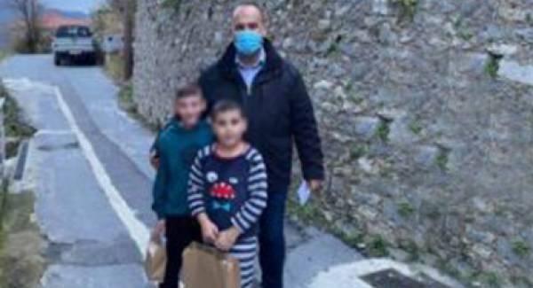 Δήμος Γορτυνίας: Δώρα χαράς σε δεκάδες μαθητές του Δήμου