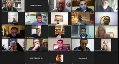 Τηλεδιάσκεψη θεσμών και δυναμικών φορέων της Λακωνίας