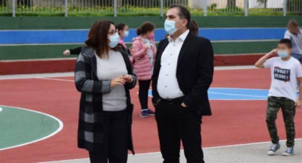 Τεστ ταχείας ανίχνευσης Covid-19 στο προσωπικό καθαριότητας των σχολείων της Καλαμάτας