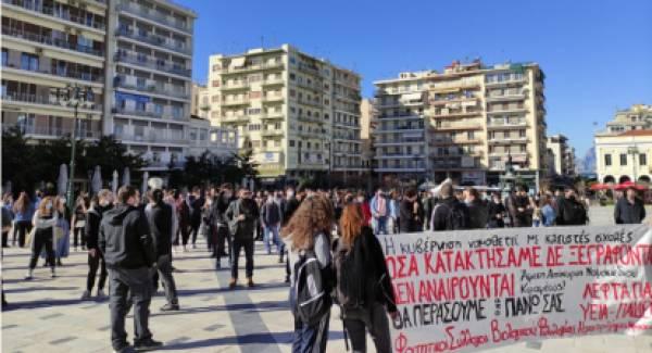 Οι Φοιτητές της Πάτρας λένε «όχι» στο ν/σ της Κεραμέως (video)