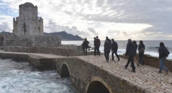 Μνημεία και έργα στη Μεσσηνία επισκέφθηκαν Νίκας και Διδασκάλου