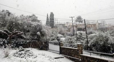 Σε ετοιμότητα ο Δήμος Άργους Μυκηνών λόγω της χιονόπτωσης στα ορεινά