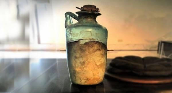 Αυτό είναι, ίσως, το παλαιότερο μπουκάλι ελαιολάδου στον κόσμο