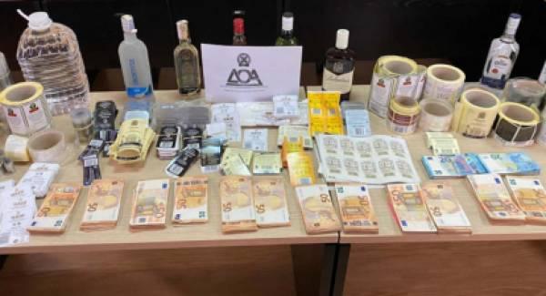 «Μαφία των ποτών» στα χέρια της Αστυνομίας θα «σήκωνε» από την αγορά 1,3 εκατ.€