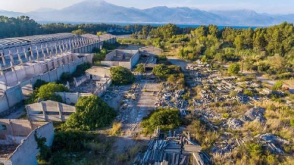 Απομακρύνεται  το πρώην εργοστάσιο της «ΑΜΙΑΝΤΙΤ» στο Δρέπανο Αχαΐας
