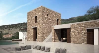 Εντυπωσιακό! Δύο αρχιτέκτονες φτιάχνουν σύγχρονα πυργόσπιτα στη Μάνη!