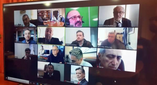 Λιβανός σε Αντιπεριφερειάρχες: «Να ενισχύσουμε την επιχειρηματικότητα στον αγροτικό τομέα»