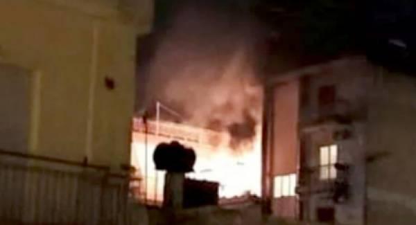 Κόλαση από πυρκαγιά σε διαμέρισμα στην Πάτρα (video)