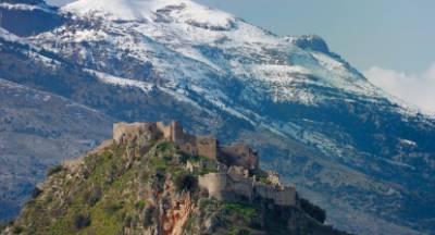 Μυστράς: Το Game of Thrones σκηνικό της Ελλάδας, από ψηλά (video)
