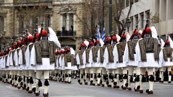 Μεγαλειώδης θα είναι η παρέλαση της 25ης Μαρτίου!