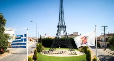 Ο Πύργος Άϊφελ Φιλιατρών από ψηλά (video)