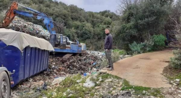 Στενάζει από τα σκουπίδια η Δυτική Μάνη αλλά παλεύει…