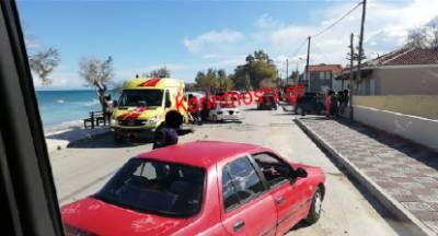 Σοβαρό τροχαίο ατύχημα στο Καμάρι Ξυλοκάστρου