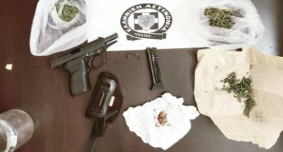 Συλλήψεις για ναρκωτικά, όπλα, ληστεία κ.α. στην Πελοπόννησο