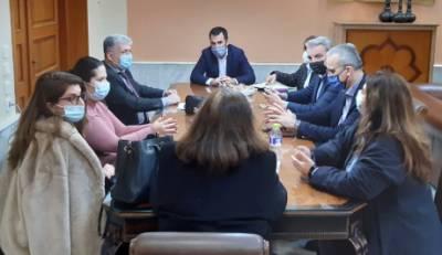 Τα προβλήματα των δικηγόρων και της Δικαιοσύνης έθεσε στον Χαρίτση ο Δικηγορικός Σύλλογος Καλαμάτας