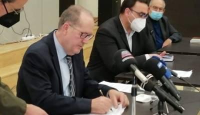 Συμβάσεις έργων 3 εκ.€ στη Λακωνία υπέγραψε  ο περιφερειάρχης Πελοποννήσου Παναγιώτης Νίκας