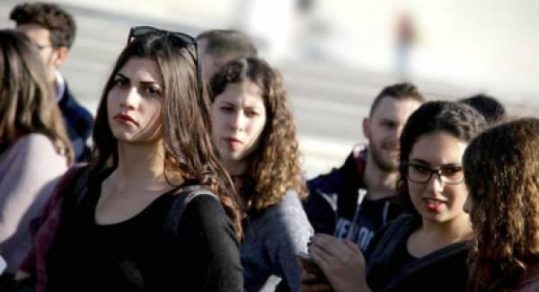 Φοιτητές στη Λακωνία διαδηλώνουν την αντίθεσή τους στο νομοσχέδιο για την Παιδεία