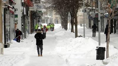 Κακοκαιρία «Μήδεια»: Στους -20 βαθμούς Κελσίου η ελάχιστη θερμοκρασία