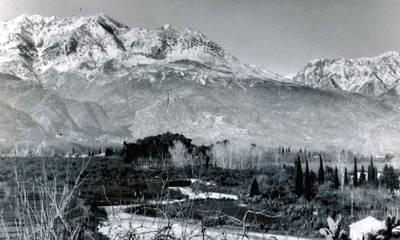 Ο Ταϋγετος χιονισμένος πριν από 100 χρόνια