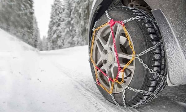 Δείτε που υπάρχουν προβλήματα στην κίνηση οχημάτων λόγω παγετού