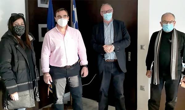 Συνεργασία Θ. Βερούτη και Π.Δούκα για έργα στον Δήμο Σπάρτης