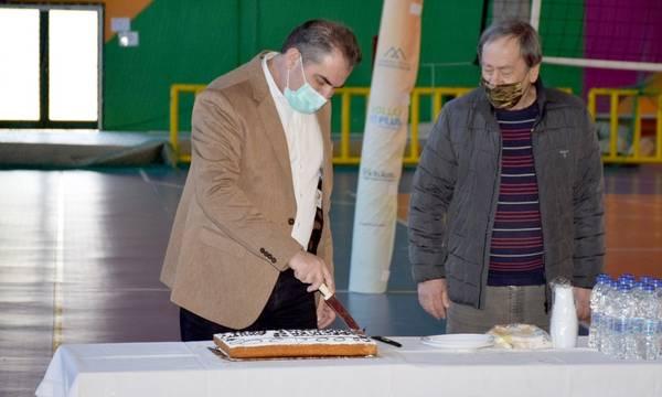 Έκοψε πίτα ο Αθλητικός Οργανισμός του Δήμου Καλαμάτας