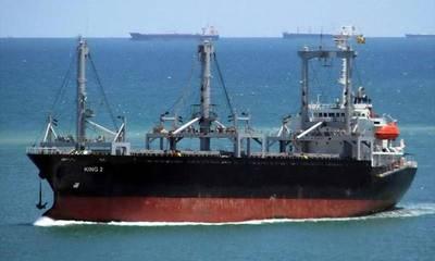Ακυβέρνητο φορτηγό πλοίο ανοικτά του Γυθείου, αγκυροβόλησε στο λιμάνι