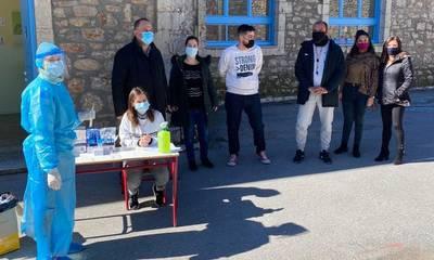 Το «κλίμα» της Γορτυνίας δεν ευνοεί τον κορονοϊό! Αρνητικά όλα τα test! (photos)
