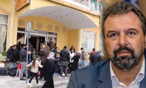 Αραχωβίτης: «Χώρο τώρα ασφαλή, ζεστό και ανθρώπινο για τους αναγνωρισμένους πρόσφυγες στη Σπάρτη»
