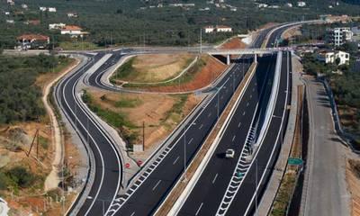 Κυκλοφοριακές ρυθμίσεις στον αυτοκινητόδρομο Κόρινθος - Τρίπολη- Καλαμάτα λόγω έργων