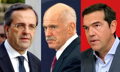 Οι Πρωθυπουργοί που εκλέγει ο Μοριάς, Σαμαράς, Τσίπρας και Παπανδρέου!