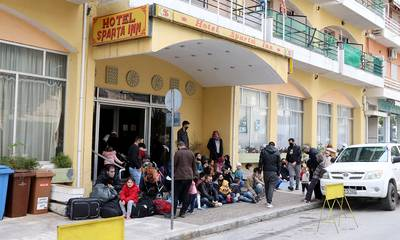 Δράσεις Αλληλεγγύης για τους πρόσφυγες του Sparta Inn