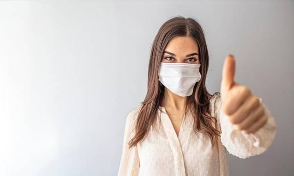 Η χρήση της μάσκας στην πανδημία