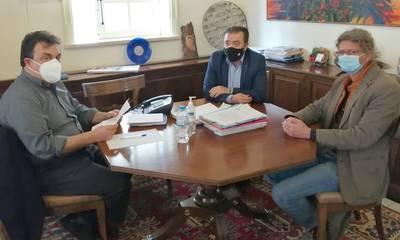 Συνάντηση επτά Δημάρχων με τον Πρύτανη για τα Τμήματα Μουσειολογίας και Γεωπονίας στην Ηλεία
