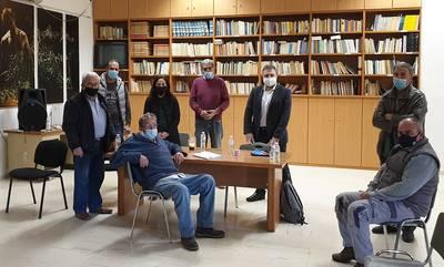 Στη Σελλασία με προέδρους Τοπικών Κοινοτήτων ο Αραχωβίτης