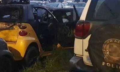 Πάτρα: Επίθεση με βόμβες μολότοφ σε πάρκινγκ της Αστυνομίας