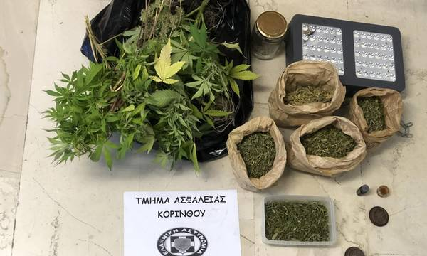 Συλλήψεις στην Πελοπόννησο για ναρκωτικά και όπλα