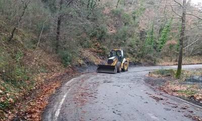 Συντηρήσεις οδών στις Κοινότητες του δήμου Καλαμάτας