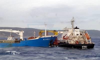 Μεγάλη κινητοποίηση εξ αιτίας της σύγκρουσης Φορτηγών πλοίων στη θαλάσσια περιοχή ΒΔ των Κυθήρων